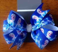 Elsa Frozen Hair Bow