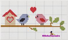Brilliant Cross Stitch Embroidery Tips Ideas. Mesmerizing Cross Stitch Embroidery Tips Ideas. Baby Cross Stitch Patterns, Cross Stitch Heart, Cross Stitch Borders, Cross Stitch Animals, Modern Cross Stitch, Cross Stitch Designs, Cross Stitching, Cross Stitch Embroidery, Cross Stitch Bookmarks