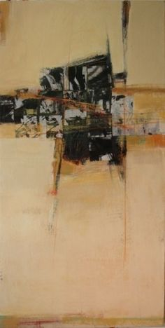 long narrow format - KAREN JACOBS  contemporary and abstract paintings