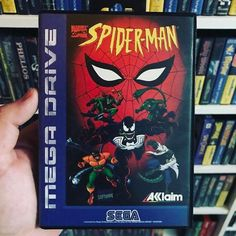 #Sega #MegaDrive #Akklaim #Spiderman #SpidermanAnimatedSeries #CIB #RetroGamer #SpidermanTheAnimatedSeries #SegaMegaDrive #ConsoleGaming #ConsoleGamer #Dortmund #retromaniac http://ift.tt/2qXkxXM