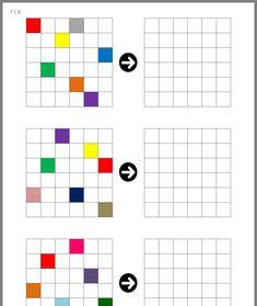 Symmetry Worksheets, Worksheets For Kids, Preschool Learning, Preschool Activities, Teaching, Coding For Kids, Math For Kids, Gross Motor Activities, Therapy Activities