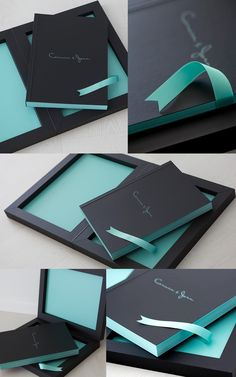 From the Spanish photographer Adolfo Enriquez, a #youngbook in black soft touch and details in the iconic blue Tiffany. #graphistudio #weddingbook #weddingphotography #madeinitaly  http://www.graphistudio.com/home