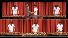 Lord of the Rings Medley on Marimba
