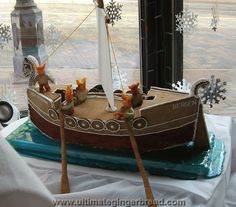 51 best gingerbread boats and ships images on pinterest in 2018 krista mulcahy a replica of the leif erikson viking ship gingerbread house designs make maxwellsz