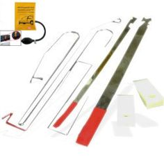 Lock Out Kit for Cars and Trucks, Slim Jim Set with Air Wedge and Nylon Wedges