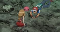 AmourShipping serena and ash are on the ground by Darkramiess on DeviantArt Pokemon Ships, Cool Pokemon, Pokemon Fan, Pokemon Ash Ketchum, Pokemon Kalos, Pokemon Ash And Serena, Cute Pokemon Pictures, Best Couple, Anime Love
