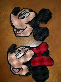 Disney's Mickey Mouse & Minnie Mouse by CraftsByChrisAnn on Etsy