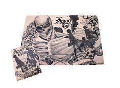 Σουπλά + Αυτοκόλλητο Titan (37x26)   Shingeki no Kyojin   OtakuStore.gr Plushies, Otaku, Gadgets, Kawaii, Fresh, Stickers, Manga, Anime, Stuffed Animals