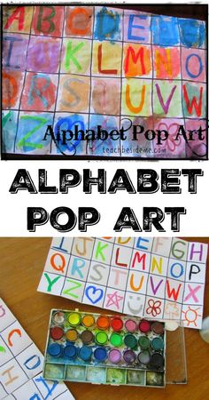 Alphabet plus art equals an awesome educational art project!  This is a fun alphabet pop art project that came from the Home Art Studio we have been using. My kids and I all had fun making this project. Make Your Own Alphabet Pop Art: This is a fun mixed-medium art project for preschoolers and older …