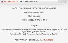 IAI Kembali Adakan OSCE-OSPE Kompetensi Apoteker April Mendatang - Lihat selanjutnya http://bidhuan.id/apoteker-edukasi/38932/iai-kembali-adakan-osce-ospe-kompetensi-apoteker-april-mendatang/