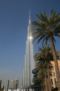 Burj Khalifa, Dubai, United Arabic Emirates. I took this picture in my 17 hour stopover in Dubai!