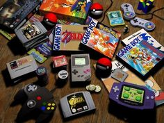 Still have Nintendo 64 and Gameboy colour! ;)