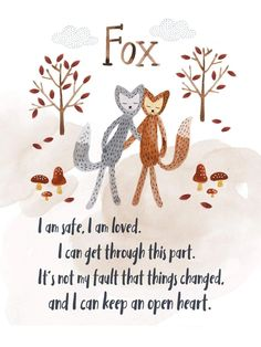 The For Fox Sake Gift Set includes: 1 x Silken Silver Fox 1 x Ultra Plush Arctic Fox 1 x Ultra Plush Tan Fox 1 x Ultra Plush Rose Fox 1 x Fox Board Book *Gift Basket not included. Presents For Kids, Gifts For Kids, Family Structure, Affirmation Cards, Feelings And Emotions, Coping Skills, Say Hello, Kids And Parenting, Little Ones