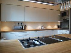 Kitchen Cabinets, Modern Kitchens, Home Decor, Decoration Home, Room Decor, Cabinets, Contemporary Kitchens, Home Interior Design, Dressers