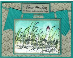 Judy's Stamp Art: Near the Sea