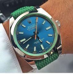 Bracelet et boitier coordonnés pour plus d'originalité ! // www.leasyluxe.com #rolex #luxurywatches #leasyluxe