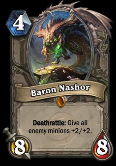 Here you can make custom Hearthstone cards. Beast, Minions 1, Thing 1, Some Cards, Summoning, Baseball Cards, Baron, Legends, World