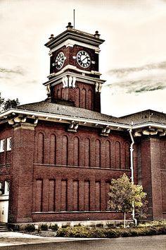 """Bryan Hall - Washington State University"" Fine Art Prints by David Patterson #Pullman #WSU #Cougars"