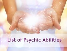 So I thought it would be fun and interesting to find out the definitions of psychic abilities. Pin any pins about the subject, share stories about your own abilities. First ability Apportation