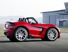 Smart car with viper body kit