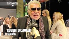 """ROBERTO CAVALLI"" Backstage Autumn Winter 2014 2015 Milan Menswear MFW b..."