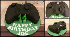 Xbox controller cake made at the White Orchid Bakery