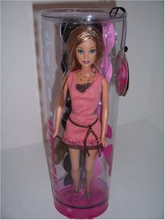 Amazon.com: J1410 - Pink Dress Barbie Fashion Fever Doll - 19: Toys & Games