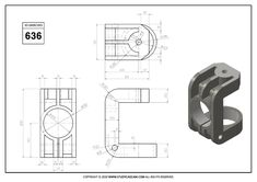 Mechanical Engineering Design, Mechanical Design, Autocad, Cad 3d, Solidworks Tutorial, Isometric Drawing, 3d Sketch, 3d Tutorial, Impression 3d