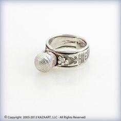 Old Fulani Peul African Silver Amulet Ring Mali   eBay