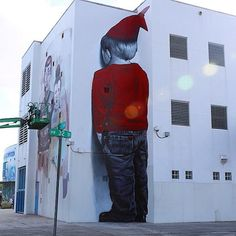 Large Artistic Expression! New Mural by MTO in Miami