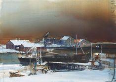 Swedish watercolorist Lars Lerin (Lars Lerin) - ARTinvestment.RU Forum