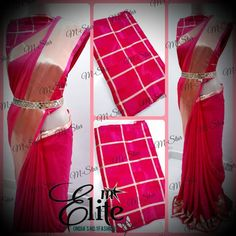 Satin Saree, Fabrics, India, Designer Sarees, Formal Dresses, Free Shipping, Instagram, Fashion, Rajasthan India