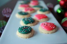 Melt Away Cookies