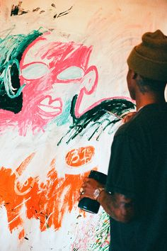 Reginald Sylvester II Interview: Figuring Art Out Graffiti, Historical Art, Black Artists, Outsider Art, Street Artists, Figurative Art, Art Studios, Graphic, Artist At Work