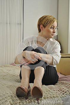 Beautiful blond woman Ania