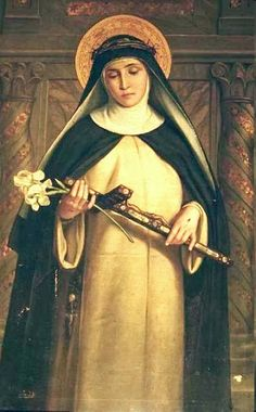 I freely and joyfully pick up the Cross which Thou hast given me to carry today, O Merciful God. Permit me to carry it today for Thy Greater Honor and Glory so that by this, my Cross, Thy Most Holy Will may be done fully in me and by me. Let not prosperity lift me up nor adversity cast me down.  – St. Gertrude