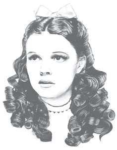Dorothy, Judy Garland, Wizard of Oz by Callum Forster