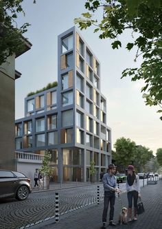 Residential design by I/O architects. Old Sofia street.