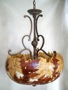 Gourd Lamps by Joanna Helphrey. Álbuns da web do Picasa.
