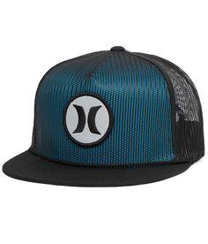 Hurley Pop Mesher Trucker Hat - Men's Hats in Black Men's Hats, Beanie Hats, Beanies, Kids Hats, Hats For Men, Hurley Hats, Mens Trucker Hat, Dope Hats, Floppy Hats