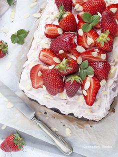 Eperkrémes sütemény