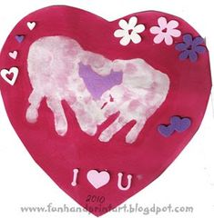 Sign Language I Love You Handprint for Valentine's Day - Fun ...