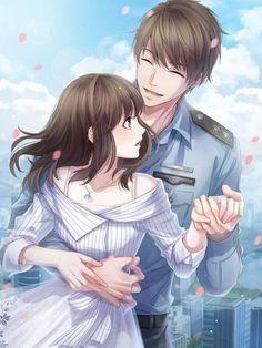 Anime Couples Hugging, Romantic Anime Couples, Anime Couples Drawings, Anime Couples Manga, Cute Anime Couples, Anime Couples Sleeping, Couple Hugging, Couple Anime Manga, Anime Cupples