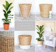 DIY planter for fiddle leaf fig tree - Pflanzen Ideen