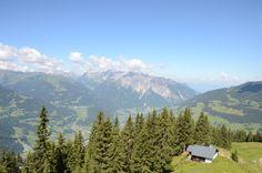 Blick ins Rheintal #silvrettamontafon #panorama #bergsommer
