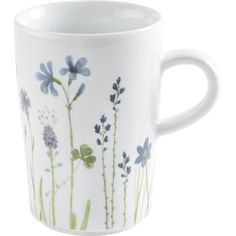 Kahlo | Magic Grip Macchiato-Obertasse 0,35 l Five Senses Wildblume blau/rot