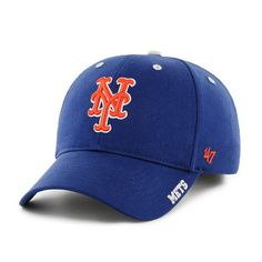 Mens New York Mets '47 Royal Blue Frost Structured Adjustable Hat