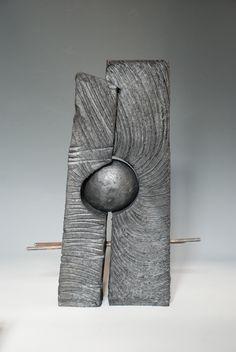 Printer Projects New York Bracelet Charm Info: 6413716820 Sculptures Céramiques, Art Sculpture, Stone Sculpture, Abstract Sculpture, Stone Carving, Wood Carving, Stone Art, Clay Art, Wood Wall Art