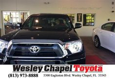 https://flic.kr/p/FAqiFF | Happy Anniversary to Greg on your #Toyota #Tacoma from Amanda Baron at Wesley Chapel Toyota! | deliverymaxx.com/DealerReviews.aspx?DealerCode=NHPF