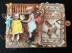 APRIL'S ART ADVENTURE ~ AN ALTERED CIGAR BOX FOR CREATIVE CARTE BLANCHE | CREATIVITY IS CONTAGIOUS | Bloglovin'